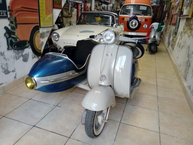 Lambretta 150 Ll Sidecar sol 1964